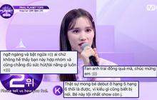 Netizen phẫn nộ khi em gái thành viên TXT được debut tại show Mnet, bị đáp trả: Fan đông thì thắng thôi!
