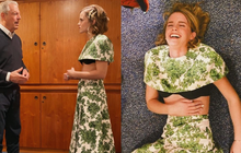 Tranh cãi nảy lửa: Emma Watson diện áo ngắn cũn lộ hết nội y đi gặp Cựu Phó Tổng thống Mỹ, ý nghĩa đằng sau lại gây xúc động?