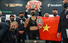 Thu Nhi, Minh Phát và Hồng Quân hoàn tất buổi cân ký, háo hức trước sự kiện tranh đai WBO