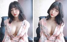 """Mê mẩn nhan sắc, thân hình bốc lửa của nữ streamer xứ Hàn, như thế này bảo sao chẳng """"gây sốt"""" mạng xã hội?"""