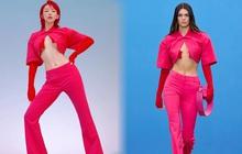 """Tóc Tiên - Kendall Jenner đọ dáng với set Jacquemus: Body ai nấy đều """"rực cháy"""", đáng bàn hơn cả là lớp makeup ẩn chứa ý vị sâu xa"""