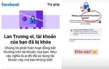 Nóng: Nhiều tài khoản Facebook bị khoá không rõ lý do