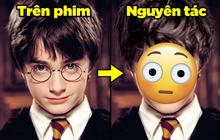 """Chùm ảnh so sánh nhân vật Harry Potter với tạo hình """"chuẩn nguyên tác"""": Nhìn Hermione mà câm nín, hãi nhất là mụ Umbridge xấu xa!"""