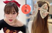 """Trong 2 phút đã có ngay kiểu tóc """"chanh sả"""" như sao Hàn với những món phụ kiện tóc siêu rẻ giá 6k"""