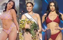 """Đối thủ """"5000 máu"""" người Thái Lan của Á hậu Kim Duyên: Bị body shaming, quyết không giảm cân vì một điều!"""