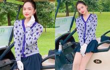 Hương Giang tích cực hoạt động MXH hậu comeback: Liên tục khoe ảnh tại sân golf, phong cách dạo này dịu dàng hẳn ra