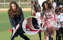 """Giải mã """"bí ẩn"""" của Kate Middleton: Chơi thể thao trên... giày cao gót, đứng hàng tiếng đồng hồ mà không mỏi chân"""