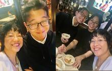 """MC Thảo Vân chính thức khoe bạn gái của cậu con trai 17 tuổi, """"mẹ chồng"""" tương lai cực tâm lý đây rồi!"""