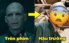 """10 ảnh hậu trường Harry Potter cực hiếm, xem mà bồi hồi: Harry dám """"dan díu"""" với kẻ địch, tài tử Voldemort cũng làm điều không tưởng!"""
