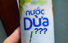 """Đang uống nước dừa, thanh niên bỗng """"xoắn cả não"""" chỉ vì 1 dòng chữ nhà sản xuất ghi trên vỏ lon"""