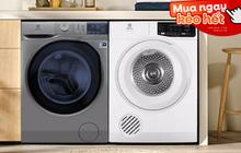 Máy giặt, máy sấy đang sale tới 41% toàn mẫu hot: Vừa có công nghệ hiện đại vừa tiết kiệm điện, mua ngay để việc giặt giũ nhàn tênh