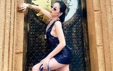 Mặc váy ngắn cũn cỡn uốn éo giữa phố, Lệ Quyên nói 1 câu rào luôn netizen khỏi kiếm cớ bắt bẻ!