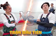 """Running Man Việt: Ngô Kiến Huy bị Lan Ngọc xem như... """"chị em"""" rồi nhận cái kết ê chề"""