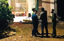 Vụ học sinh lớp 3 bị chém tử vong: Cột nhà có vết chém vỡ gạch
