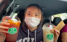 """Đi uống Phúc Long tại Mỹ, Jenny Huỳnh được nhân viên quán nhận ra và lập tức có """"đặc quyền"""" VIP: Khi bạn nổi tiếng thì niềm vui sẽ tự tới!"""