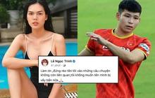 Bị réo tên là người cũ của cầu thủ U23 Việt Nam, Ngọc Trinh bức xúc lên tiếng
