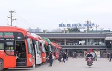 Một người trên xe khách từ TP.HCM ra BX Nước Ngầm dương tính SARS-CoV-2, Hà Nội thông báo khẩn