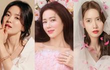 """So kè hội quốc bảo nhan sắc xứ Hàn: Song Hye Kyo """"lép vế"""" hơn Son Ye Jin ở một điểm, Yoona có bì lại đối thủ?"""