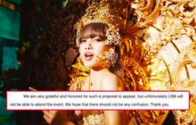 """YG phủ nhận tin Lisa tham dự sự kiện 70 tỷ tại Thái Lan: Fan không đòi công bằng mà khen ngợi công ty, bị netizen chê """"tiêu chuẩn kép"""""""