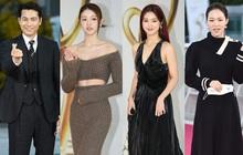 """Thảm đỏ ngược đời: Thánh body Kpop bị mỹ nhân kém nổi """"doạ"""" cướp spotlight, tài tử Jung Woo Sung chân dài át cả dàn nam thần NCT"""