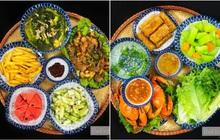 Loạt mâm cơm của gái đảm Hà Giang khiến netizen chỉ biết cảm thán: Thế này mà không mở nhà hàng hơi phí!