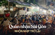 2 nơi hiếm hoi tại Sài Gòn được mở lại quán nhậu: Hàng quán đông vui hơn hẳn, tấp nập trở lại sau nhiều ngày đóng cửa