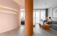 Thiết kế bẻ cong không gian mô phỏng theo hẻm núi Grand Canyon, chủ nhà có ngay không gian sống hay ho với màu cam đất ấn tượng