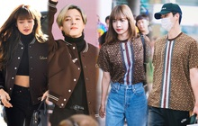 """5 lần """"đụng"""" hàng hiệu của Lisa với các nam idol: Hết BTS lại tới EXO, ai mới là người mặc đỉnh nhất?"""