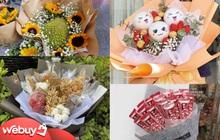 8/3 tặng gì: Bó hoa ăn được vẫn hot lắm, lưu ngay 3 shop này để đặt ship tận nhà ngay nào!