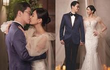 """Couple hot nhất Penthouse tung ảnh cưới: Không phải màn khóa môi, body tuyệt mỹ của """"ác nữ"""" Kim So Yeon mới là tâm điểm"""