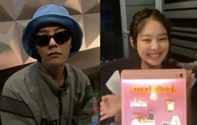 Soi tương tác mới đây nhất của G-Dragon - Jennie: Bên nhau lúc nửa đêm trên livestream, nàng có biểu hiện gây chú ý