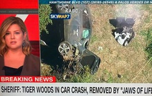 Tay golf huyền thoại Tiger Woods nhập viện khẩn cấp vì tai nạn xe hơi