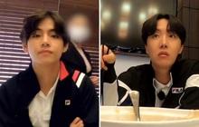 """V (BTS) bị hội anh em """"giáo huấn"""" chỉ vì một phút lỡ làng mắc lỗi kém duyên trên bàn ăn"""