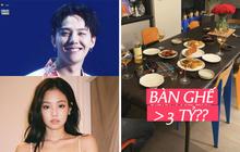 Trời ơi G-Dragon và Jennie ngồi ăn tối trên bộ bàn ghế giá hơn 3 tỷ, trong tủ lạnh còn có món ăn đắt top 10 thế giới!