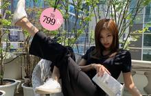 Mua sneaker đạp gót giống Jennie cho trendy, biết đâu lại có người yêu chất như GD