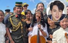Con gái Ngô Tôn nổi tiếng khắp Weibo vì được biểu diễn cello trước nhà vua Brunei, câu chuyện đằng sau sự kiện gây sốt
