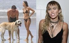 """Đường dài mới biết ngựa hay: Miley Cyrus tình duyên lận đận hậu ly hôn, chồng cũ khoe """"cẩu lương"""" bên bạn gái bốc lửa"""
