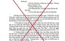 Quảng Nam: Nam sinh lớp 9 trêu bạn bè, giả văn bản cho cả tỉnh nghỉ học vì Covid-19