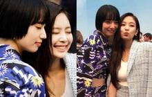 Hot lại khoảnh khắc 2 cô bạn gái của G-Dragon đọ sắc căng đét: Jennie - Nana visual đối lập, thái độ kẻ cũ người mới gây chú ý