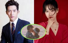 """Dương Tử bịt mắt, hôn Tỉnh Bách Nhiên cực tình ở phim mới khiến netizen phát hờn """"sao mùi mẫn quá đi"""""""