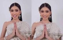 Á hậu Ngọc Thảo chơi lớn nói tiếng Thái trước ngày đi thi quốc tế, người Thái nghe xong comment một câu hết hồn