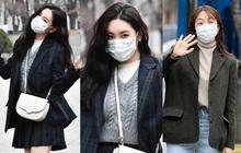 """2 mỹ nhân sexy đình đám Kpop đi làm chiều nay: Sunmi """"bùng nổ"""" visual bất ngờ, Hani tụt dốc nhan sắc sau tin hẹn hò"""
