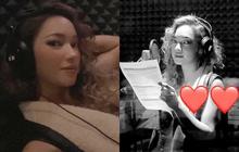 Đang yên đang lành, Châu Bùi bất ngờ đăng clip trong phòng thu, định bất chấp gia nhập hội người đẹp đi hát hay gì?