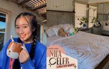 Tiểu thư YouTuber Jenny Huỳnh khoe phòng riêng ở Mỹ, nhìn là biết rich kid thứ thiệt