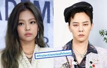"""Jennie bị """"ném đá"""" sau tin hẹn hò G-Dragon khiến fan tức giận, """"khủng bố"""" đòi YG bảo vệ gà nhà quá tải hộp thư"""