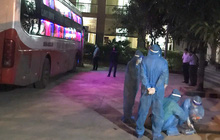 Nghệ An: Chặn bắt chiếc xe giường nằm chở 7 người Trung Quốc nhập cảnh trái phép