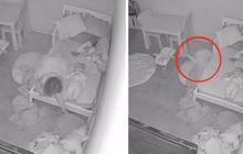 Đứa trẻ đang chơi thì dần biến mất dưới gầm giường miệng liên tục hoảng hốt gọi mẹ, video gây bão MXH khiến cả triệu người xem kinh hãi tột độ
