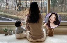 """Choi Ji Woo lần đầu hé lộ hình ảnh con gái đầu lòng sau khi lấy chồng CEO, bé đáng yêu """"xỉu lên xỉu xuống"""""""