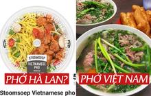 """Chuỗi siêu thị Hà Lan bị tẩy chay vì biến tấu món phở Việt quá mức: """"Sợi phở"""" vàng như mì tôm, ăn kèm thịt gà sốt?"""