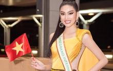 """Á hậu Ngọc Thảo lên đường đến Thái Lan dự Hoa hậu Hoà Bình Thế Giới 2020, vừa ra quân đã gây sốt với sắc vóc """"đỉnh chóp"""""""